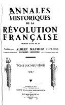 La question des subsistances en maconnais à la fin de l'ancien régime et au début de la révolution (1788-1790)