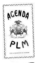 Agenda PLM 1913