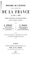 Histoire de l'Europe au Moyen-Âge  (395-1270)
