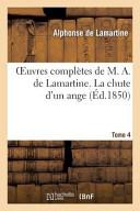 Oeuvres de Lamartine, 4 tomes