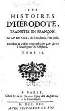 Les histoires d'Hérodote, tome I