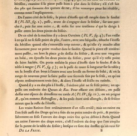 Planche extraite de L'Art du Cordonnier, par Garsault, 1767 (source Gallica)