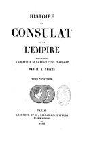 Histoire du Consulat et de l'Empire (20 tomes)