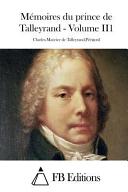 Talleyrand, Mémoires, Tome II
