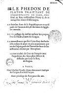 Timée, Critias - Oeuvres complètes, tome X