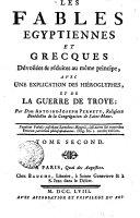 Fables Egyptiennes et Grecques  - 2 tomes