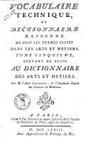 Dictionnaire raisonné universel des arts et métiers, tome 1, A-C