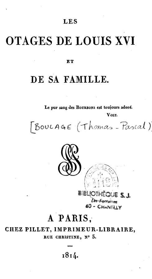 """Les """"otages de Louis XVI"""" durant la Révolution française Content?id=6RRX1OrinLIC&hl=fr&pg=PP9&img=1&zoom=3&sig=ACfU3U0MupyfYdqLDxEcouUU6pH49rzkyw&ci=57%2C104%2C850%2C1556&edge=0"""