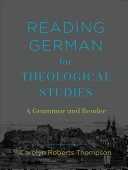 Reading German for Theological Studies