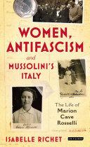 Women, Antifascism and Mussolini's Italy