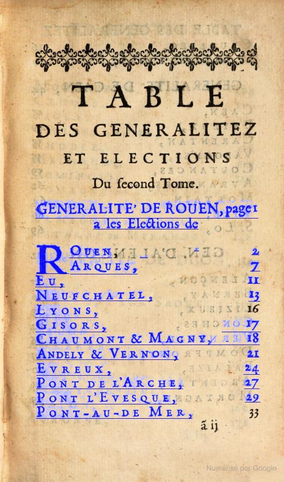 Page d'un livre