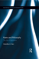 Keats and Philosophy