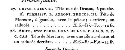 Drusus sous Tibère - Colonia Iulia Pia Paterna  Books?id=whZEAAAAcAAJ&hl=fr&pg=PA585&img=1&zoom=3&sig=ACfU3U0m5Yw5_D5zSktK06A8QDkydHZMDQ&ci=76%2C530%2C724%2C292&edge=0