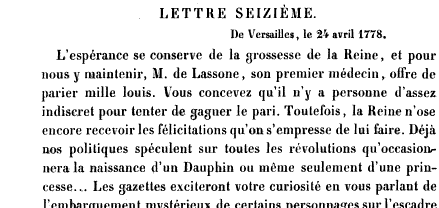 La première grossesse de Marie-Antoinette, selon les Mémoires Secrets ... Books?id=x1JPEptEMCIC&hl=fr&hl=fr&pg=PA161&img=1&zoom=3&sig=ACfU3U1zDB-kqKffZPWBpwPxhAkZSiXFrw&ci=58%2C950%2C762%2C361&edge=0