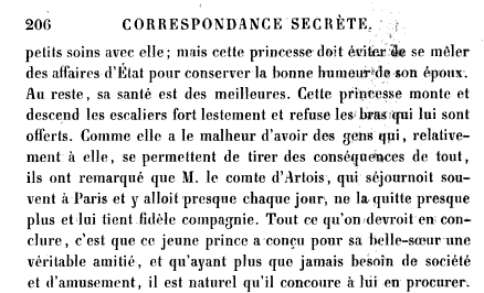 La première grossesse de Marie-Antoinette, selon les Mémoires Secrets ... - Page 2 Books?id=x1JPEptEMCIC&hl=fr&hl=fr&pg=PA206&img=1&zoom=3&sig=ACfU3U1WDjA64mQLX7IgP3hDonKmtB2okw&ci=137%2C104%2C762%2C463&edge=0