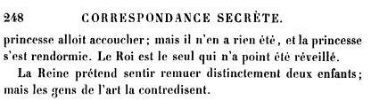 La première grossesse de Marie-Antoinette, selon les Mémoires Secrets ... - Page 2 Books?id=x1JPEptEMCIC&hl=fr&hl=fr&pg=PA248&img=1&zoom=3&sig=ACfU3U22jw4Qh9O6L1bJPSQYkenmJINdmQ&ci=188%2C104%2C723%2C197&edge=0