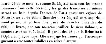 L'Entrée de la Reine à Paris le 24 mai 1785 Books?id=x1JPEptEMCIC&hl=fr&hl=fr&pg=PA562&img=1&zoom=3&sig=ACfU3U1-tCnrRqrMFx86RmJ-Ahz9tftDfg&ci=181%2C150%2C730%2C308&edge=0